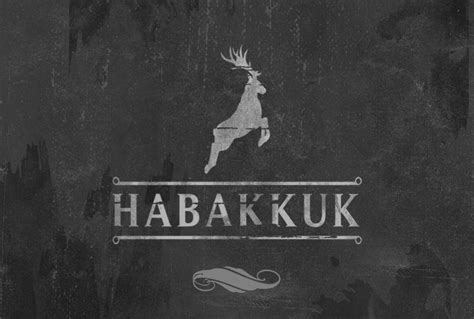 Habakkuk #2