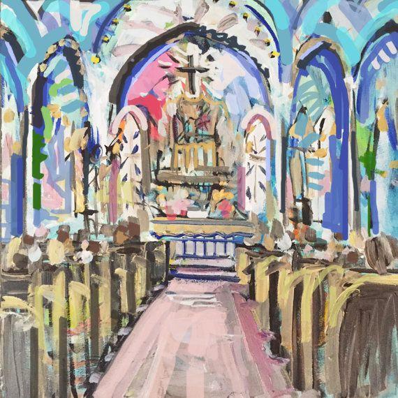 abstract church